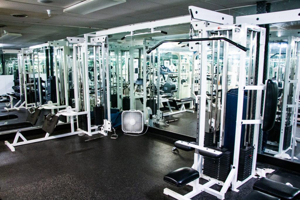 BYUI Mens housing gym